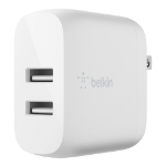 Belkin WCB002DQWH mobile device charger Indoor White