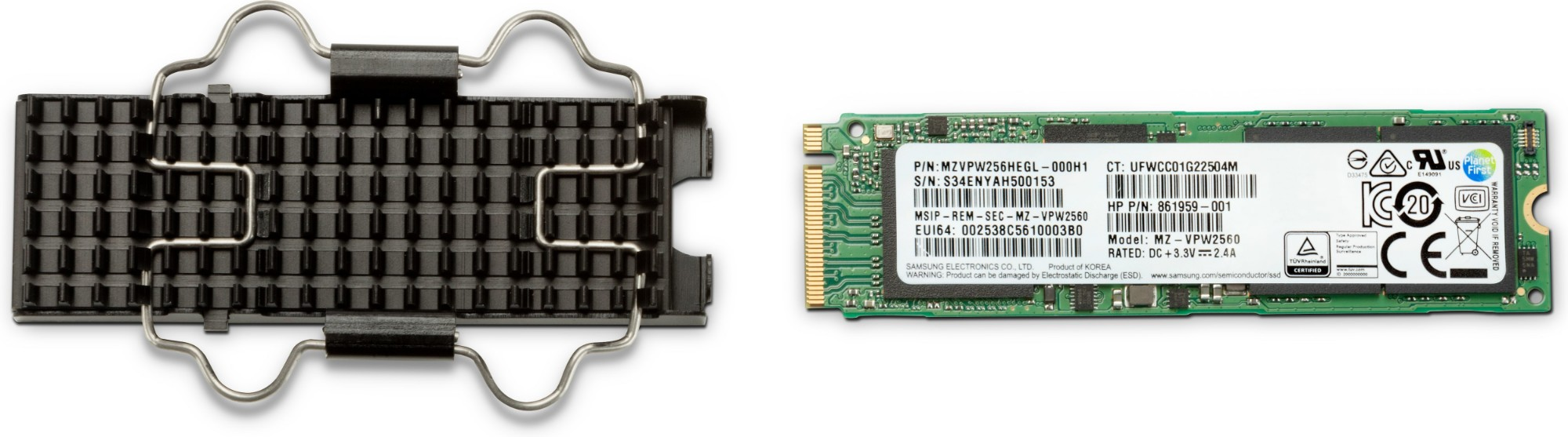 HP Z Turbo Drive M.2 1000 GB PCI Express TLC NVMe