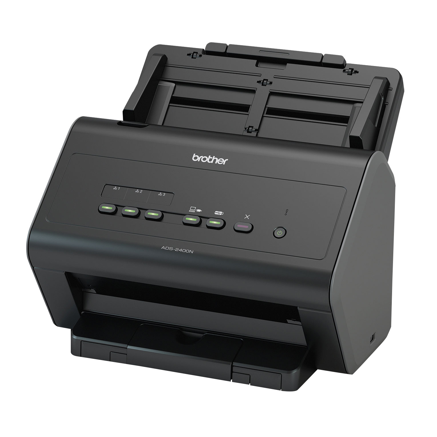 Image Center Ads-2400n Desktop Scanner With Gigabit Ethernet Networking