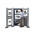 Nobo Modular Display System - Upright and Base DD