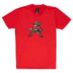 OVERWATCH McCree Pixel T-Shirt, Unisex, Large, Red (TS002OW-L)