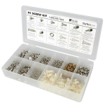 StarTech.com Deluxe Assortment PC Screw Kit - Screw Nuts and Standoffs PCSCREWKIT