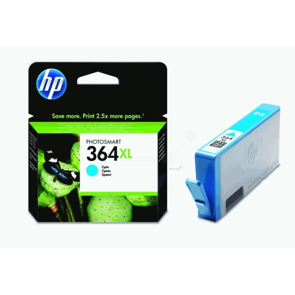 HP CB323EE (364XL) Ink cartridge cyan, 750 pages, 6ml