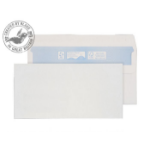 Blake Purely Environmental Wallet Self Seal White DL 110×220mm 90gsm (Pack 1000)