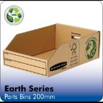 Fellowes Earth Parts Bin 200mm 07355 PK50