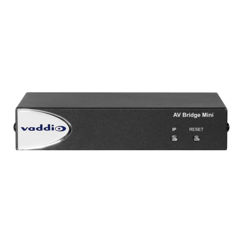 Vaddio 999-8240-001 AV conferencing bridge 3840 x 2160 pixels Ethernet LAN Black