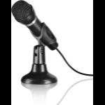 SPEEDLINK CAPO Karaoke microphone Wired Black