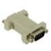 C2G DB9 Modem Adapter DB9 M DB9 FM Gris