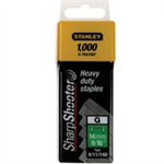 Stanley 10MM STAPLES PK1000 1-TRA706T