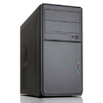 Spire Quartz Micro-Tower 500W Black computer case