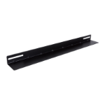 LinkBasic 19' L Rail for 800mm Deep Cabinet only - Black - Comes In Single not Pair
