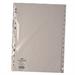 White Box WB INDEX A4 1-15 POLYPROP WHITE