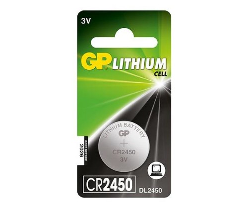 GP Batteries Lithium Cell CR2450 Single-use battery