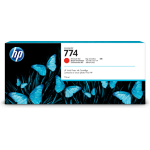 HP 774 775-ml Chromatic Red DesignJet ink cartridge Original