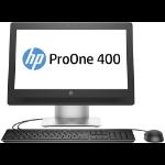 """HP ProOne 400 G2 2.5GHz i5-6500T 20"""" 1600 x 900Pixels Zilver Alles-in-één-pc"""