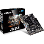 Asrock J3455M NA (integrated CPU) Micro ATX