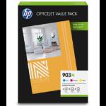 HP 903XL Officejet Value Pack Origineel Cyaan, Magenta, Geel Multipack