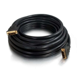 "C2G 30.4m DVI-Dâ""¢ CL2 M/M DVI cable Black"