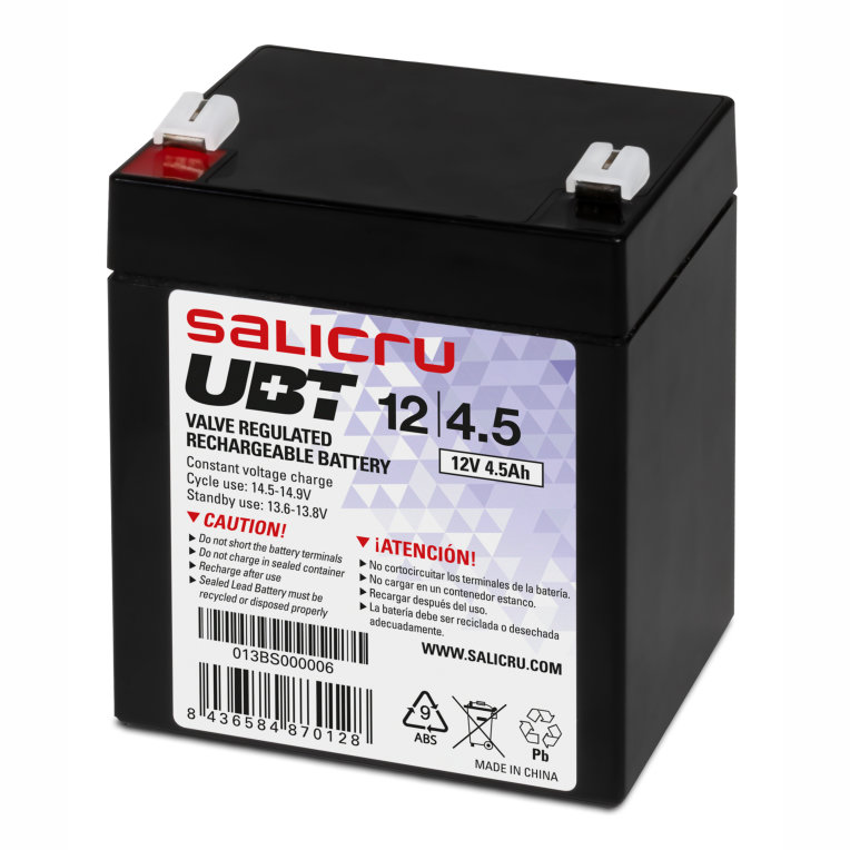 Salicru UBT 12/4,5 Sealed Lead Acid (VRLA) 12 V 4,5 Ah