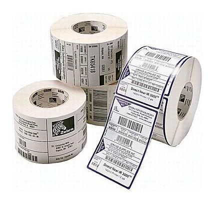 Zebra PolyO 3100T Blanco Etiqueta para impresora autoadhesiva