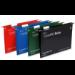 Rexel Crystalfile Extra Foolscap Suspension File 30mm Blue (25)