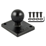 RAM Mounts Ball Adapter with AMPS Plate for TomTom Bridge, Rider 2 + More