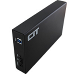 "CIT 3.5"" USB 3.0 SATA Aluminium HDD Enclosure U3YA Black"