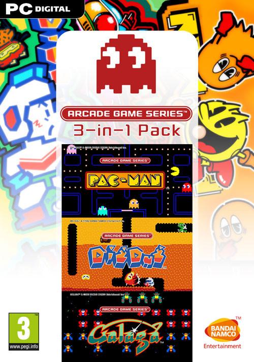 Namco Bandai Games Arcade Game Series 3-in-1 Pack Basic PC DEU, ENG, ESP, FRE, ITA, JPN Videospiel