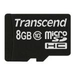 Transcend TS8GUSDC10 memory card 8 GB MicroSDHC Class 10