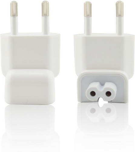CoreParts MSPA4258 power plug adapter Type C (Europlug) White