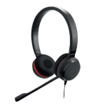 Jabra Evolve 20SE MS Stereo Binaural Head-band Black