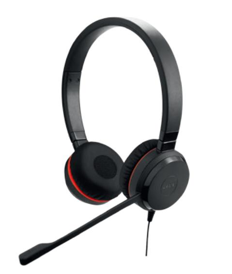 Jabra Evolve 20SE MS Stereo Binaural Head-band Black
