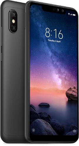 "Xiaomi Redmi Note 6 Pro 15.9 cm (6.26"") 3 GB 32 GB Dual SIM Black 4000 mAh"