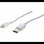 Hypertec 532455-HY USB cable 1.8 m 2.0 USB A Micro-USB B White