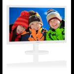 """Philips Monitor 24"""" 16:9 LED, 243V5QHAWA, White, 1920x1080, Input: VGA/DVI/HDMI , VESA, Speakers , 3YR"""