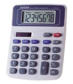 Aurora DT210 calculator Desktop Basic Grey