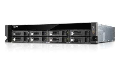 QNAP TS-853U-RP NAS Rack (2U) Ethernet LAN Black,Grey storage server