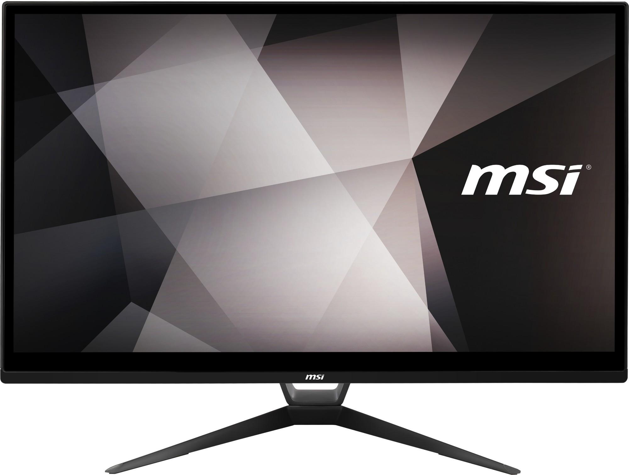 """MSI Pro 22XT 10M-003EU 54.6 cm (21.5"""") 1920 x 1080 pixels Touchscreen 10th gen Intel® Core™ i5 8 GB DDR4-SDRAM 256 GB SSD Windows 10 Pro Wi-Fi 5 (802.11ac) All-in-One PC Black"""