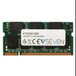 V7 1GB DDR1 PC3200 - 400mhz SO DIMM Notebook Memory Module - V732001GBS