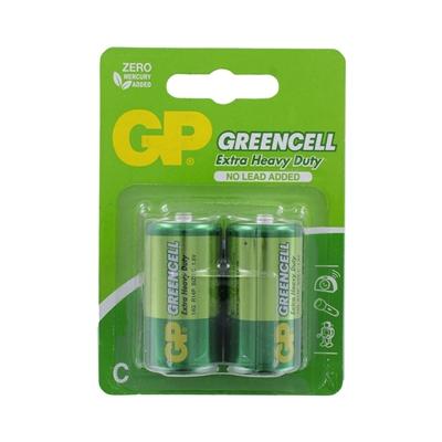 GP Batteries GP Greencell Zinc Pack of 2 C Batteries