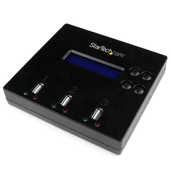StarTech.com 1:2 Standalone USB Duplicator and Eraser for Flash Drives