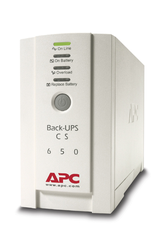 APC Back-UPS Standby (Offline) 650VA Tower Beige