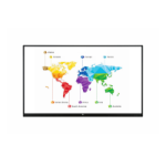 "LG 75TR3BF-B interactive whiteboard 75"" 3840 x 2160 pixels Touchscreen Black"