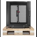 APC NetShelter SX 12U Wall mounted rack Black