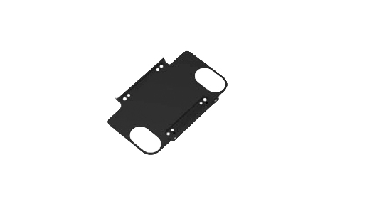 """Elo Touch Solution E160491 10"""" Black flat panel wall mount"""