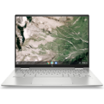 "HP Chromebook Elite c1030 34,3 cm (13.5"") 1920 x 1280 Pixels Touchscreen Intel® 10de generatie Core™ i7 8 GB DDR4-SDRAM 256 GB SSD Wi-Fi 6 (802.11ax) Chrome OS Zilver"