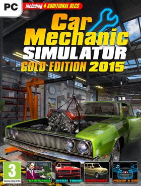 Nexway Car Mechanic Simulator 2015 - Gold Edition vídeo juego PC/Mac Oro Español