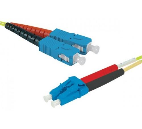 Hypertec 392348-HY fibre optic cable 20 m SC LC OS2 Yellow