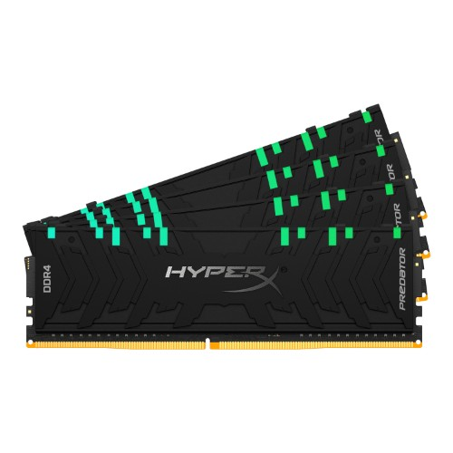 HyperX Predator HX432C16PB3AK4/32 memory module 32 GB 4 x 8 GB DDR4 3200 MHz