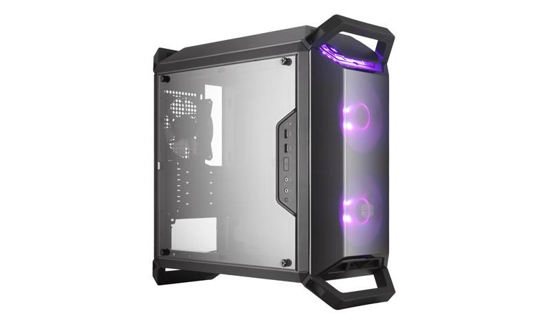 Cooler Master MasterBox Q300P Mini-Tower Black computer case
